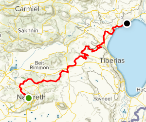 Jesus Trail  Map