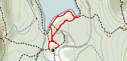 Jordan Pond Nature Trail Map