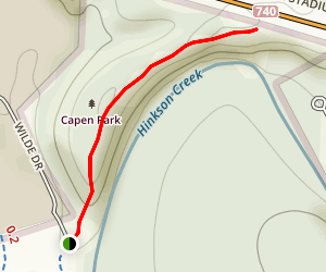 Capen Park Trail Map