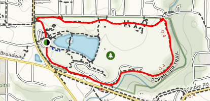 Stephen's Lake Perimeter Trail Map