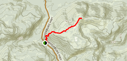 One Duck Trail Map