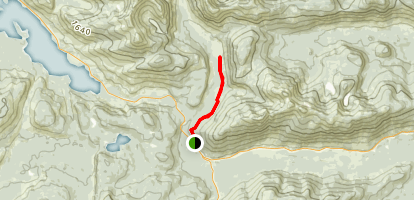 20 Mile Spur Trail Map