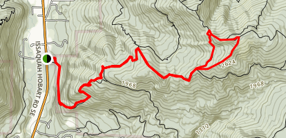 West Tiger #1 Map