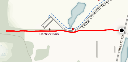 Hartrick Park Black Trail Map