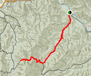Injun Creek Trail Map