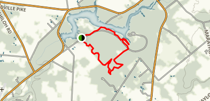 Beechtree Lakeview Loop Map