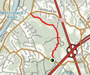 Fish Brook Trail and Harolds Trail Map
