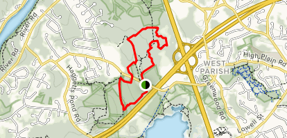 Virginia Hammond and Bald Hill Reservation Map