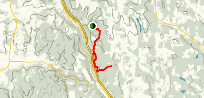 Hoxie Gorge Map