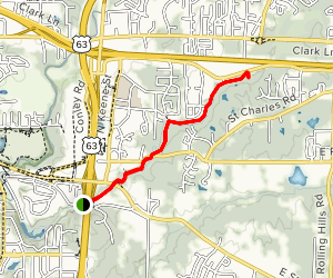 Hominy Branch Trail Map