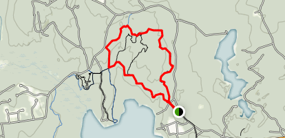 Schoolhouse Pond Trail Map