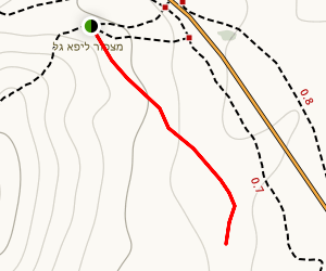 Lifa Lookout Map