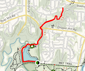 County House Trail Map