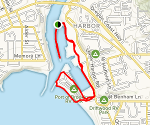 Brookings Harbor Walk Map
