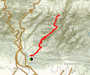 Cradock Peak Trail Map