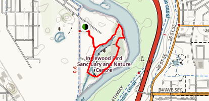 Inglewood Bird Sanctuary Map