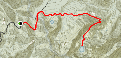 Devil's Punchbowl Trail Map