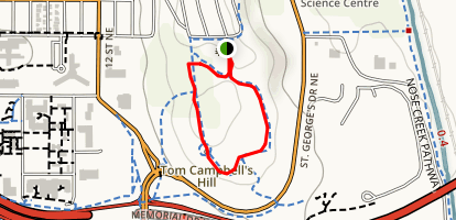 Tom Campbell's Hill Map