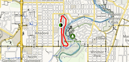 River Park Loop Map