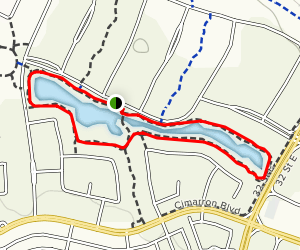 Cimarron Pond Map