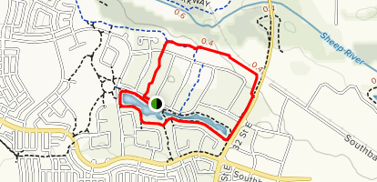 Cimarron Pond Extended Loop Map