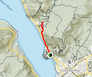 Cornish Trail to Breakneck Brook Map
