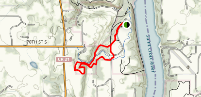 Deer Valley Loop Map