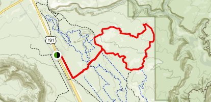 Circle O Trail Map