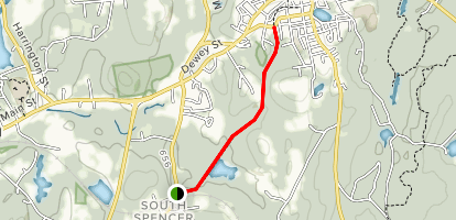 Depot Road Trail Map
