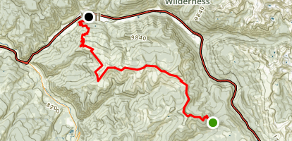 Bowmans Shortcut to Vail Map