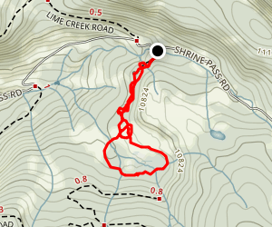 Vail Pass Loop Map