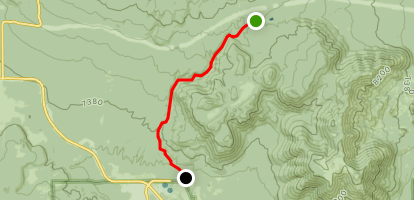 Shultz Creek Downhill Map