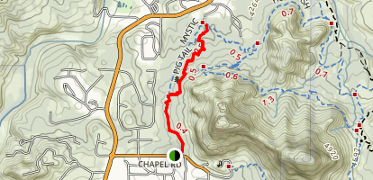 Pig Tail Trail Map