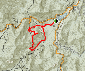 Bear Hair Gap Trail Map