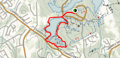 Chandler Lake Loop Map