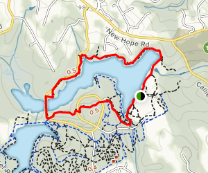 Tribble Mill Trail Map