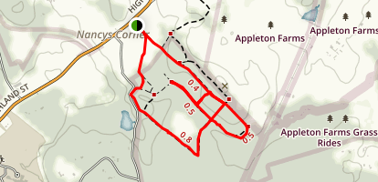 Appleton Farms Grass Ride Trail Map