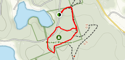 South Triangle Pond Conservation Area Trail Map