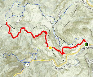 Nighthawk Trail Map