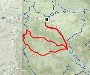 Sawmill Trail and Belcher Hill Trail Loop Map