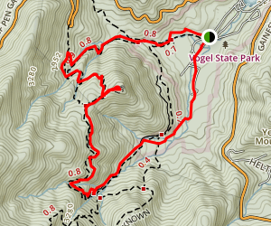 Bear Hair Gap Trail Extended Loop Map