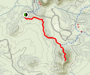 Coxcomb Trail Map