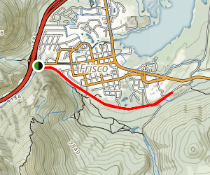 Temple Trail Map