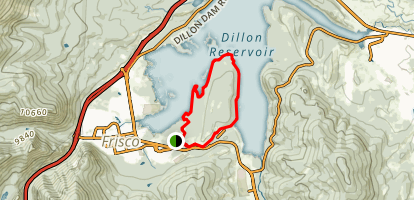 Lakeshore Perimeter Trail Map