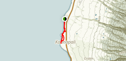 Kaanapali Trail Map