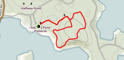 Gallows Pond Preserve Map