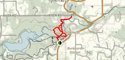 Burkhardt Trail Map