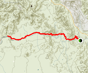 Arizona Trail: Kelvin to Red Mountain  Map