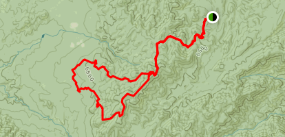 Spruce Mountain Loop via Smith Ravine Trail Map