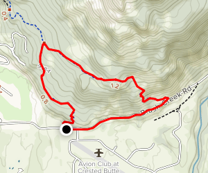 Whetstone Vista Loop Map